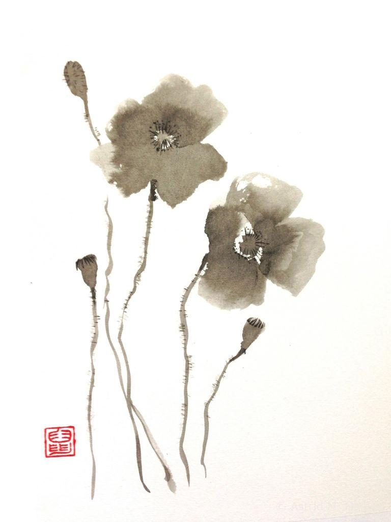 Japans Inktschilderen / sumi-e
