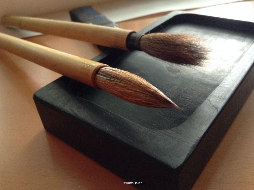 Sumi-e Japans Inktschilderen