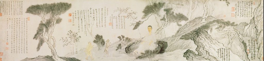 Shitao kunstschilder, dichter en kalligraaf