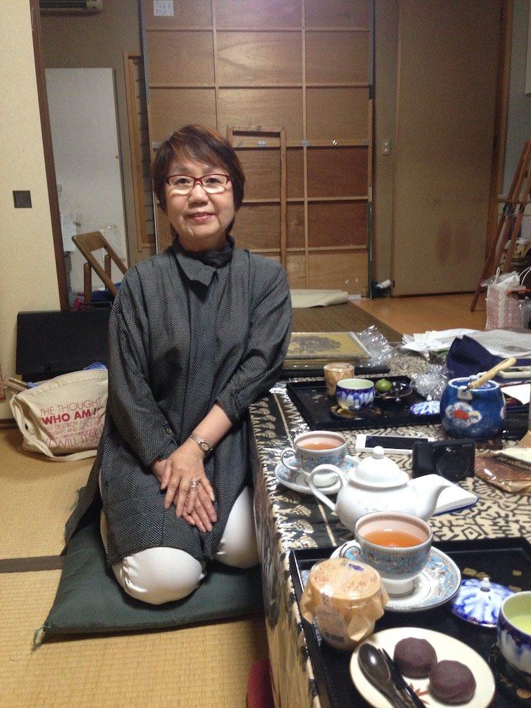 Sumi-e les van Kazuko Sensei