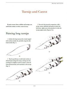 chinees penseelschilderen voor de beginner - wortel