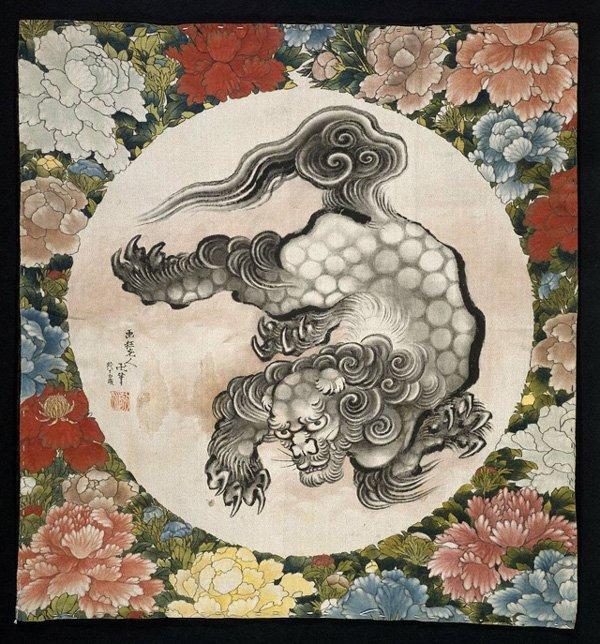 Oei en Hokusai