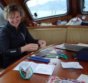workshop origami door Anne Hesseling