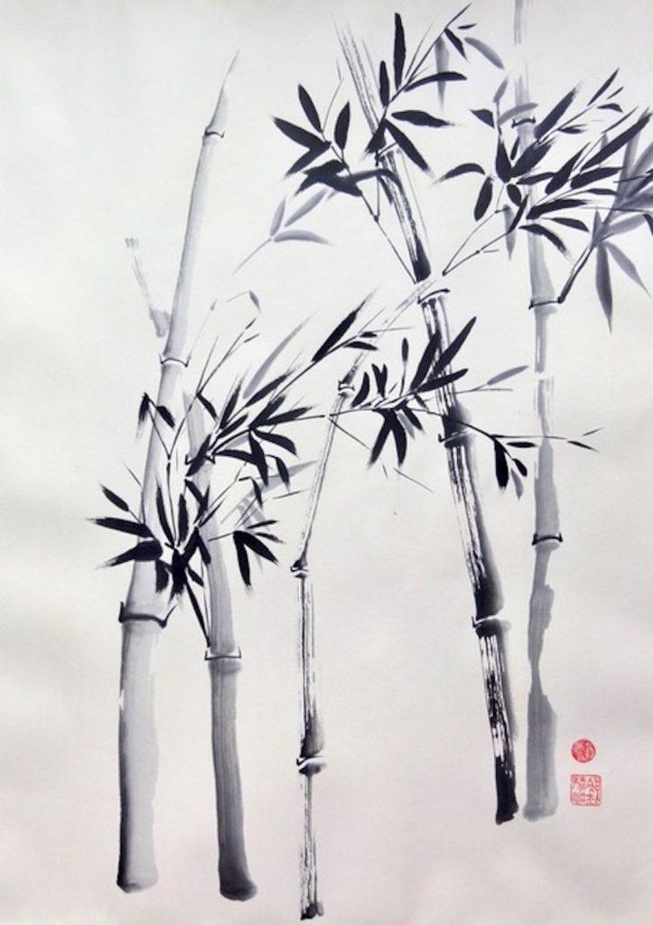 Bamboe van MeiMei Art - Louise van Eenennaam