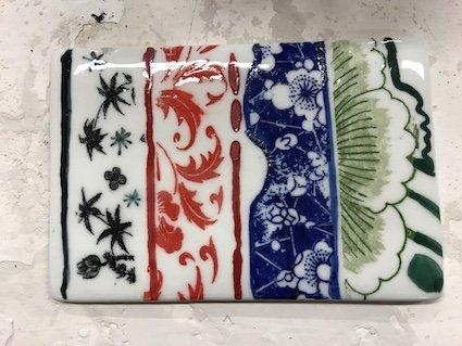 De kleuren om mee te werken bij Chinees porseleinschilderen