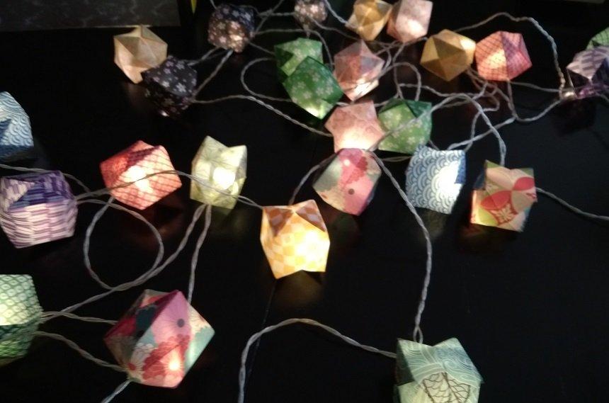 origami lichtsnoer