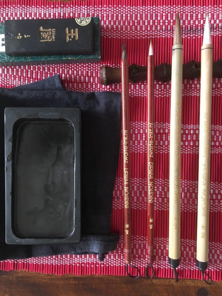 een goed penseel voor sumi-e