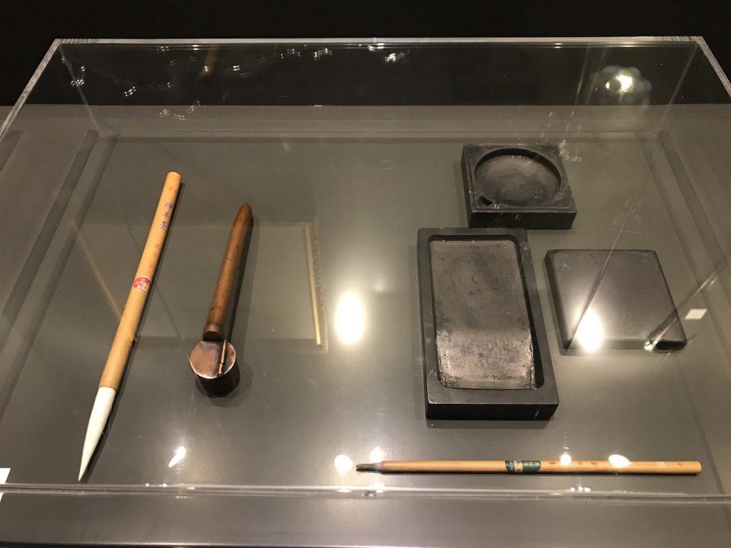 Oosters Licht - Japanse inktstenen en penselen voor kalligrafie en sumi-e