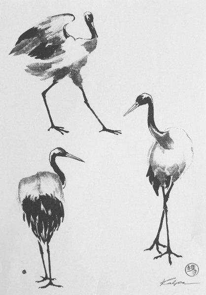 Kraanvogel van Kalpa MacLachlan