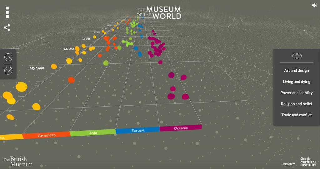 Bezoek een virtueel museum vanaf je bank