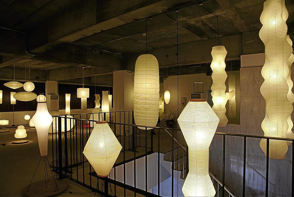 Akari lampen van Isamu Noguchi