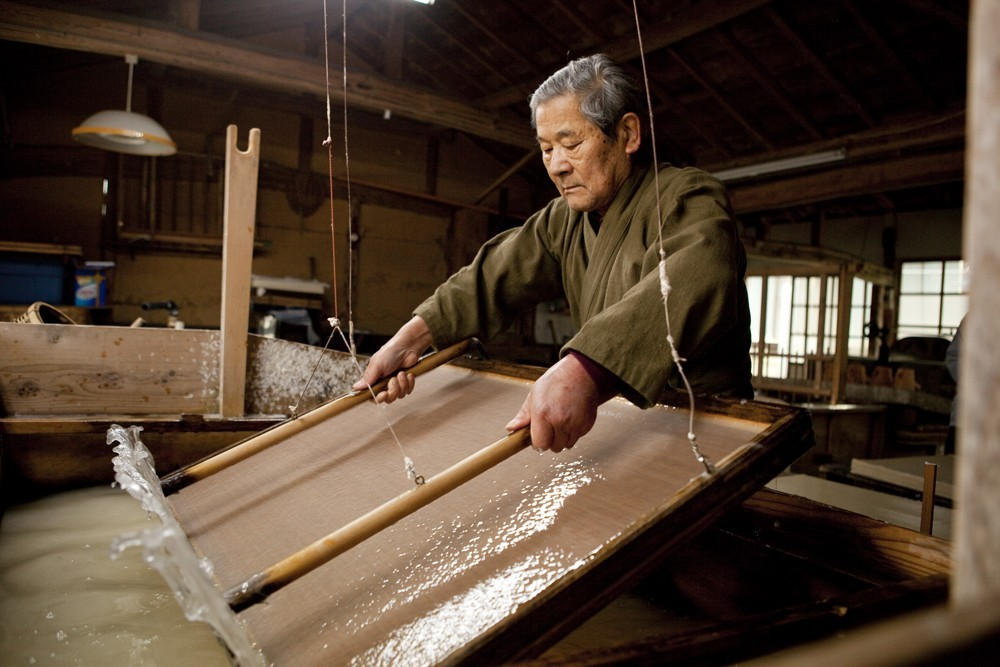 Japans rijstpapier mino washi